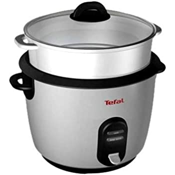 Tefal RK100815 Classic Rice and Multi Cooker, Chrome, 10 Cup Capacity