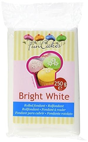 FunCakes Fondant hellweiß Vanille, 1er Pack (1 x 250 g)