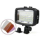 TOOGOO Tauchen Led Videolicht 40M Wasserdichte Unterwasser Led Fotografie CCTV Kamera Beleuchtung Led Au?enkamera Licht Sl-101