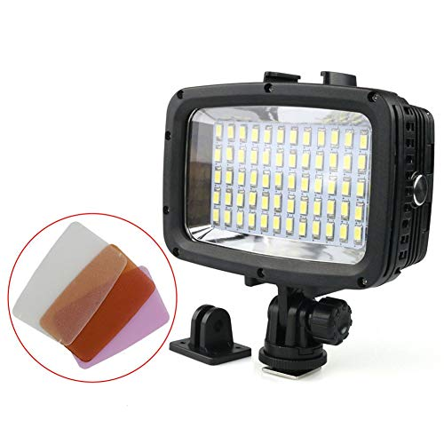 TOOGOO Tauchen Led Videolicht 40M Wasserdichte Unterwasser Led Fotografie CCTV Kamera Beleuchtung Led Au?enkamera Licht Sl-101 -