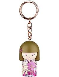 Porte clé Kokeshi Kimmidoll 5cm Ayame - gratitude