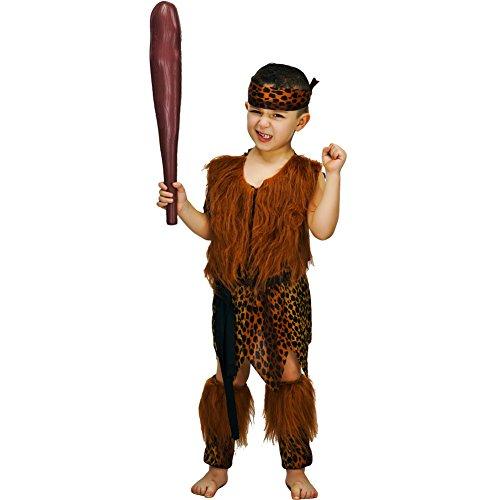 Sea Hare Costumi Fun Costume Caveman Bambino Costume (7-9 anni)