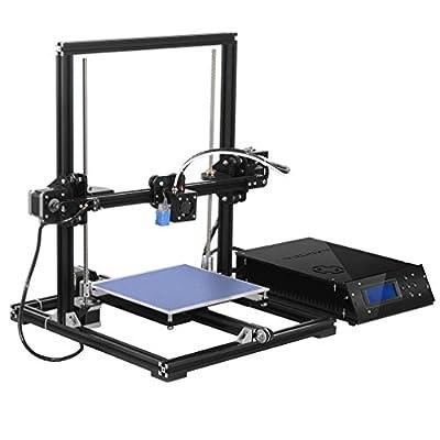 TRONXY X3A Automatische Nivellierung Großer 3D-Drucker Upgradest Hochpräzise Aluminiumstruktur Metall MK8 Düse DIY Kit 2004A LCD Bildschirm Druckgröße: 220 * 220 * 300mm
