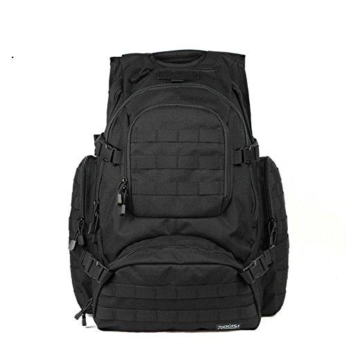 Sincere® Forfait/Sacs à dos/Portable/Ultraléger Noah ventilateurs militaires tactiques de camping extension sac à dos terrain/extérieur kits noir 40L