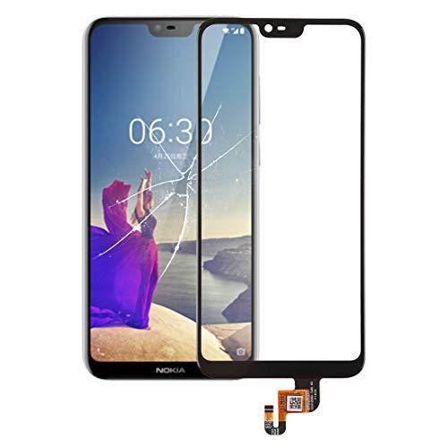 Zhuhaixia ZHUHX ZHUHX Touch Panel für Nokia X6 (2018) (Schwarz) ZHUHX (Color : Black) Nokia X6 Touch Screen