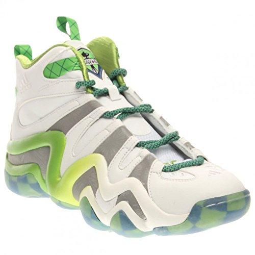 Adidas Performance Crazy 8 Basketball-Schuh, klar Onix, 6,5 M Us White-silver Met-black