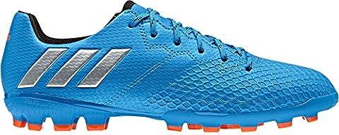 adidas Messi 16.3 AG J, Chaussures de Foot Garçon, Bleu-Azul (Azuimp / Plamat / Negbas), 37 1/3 EU