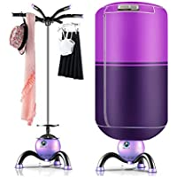 Secadora de ropa Climatizada Plegable Airer para Seguridad de Alta Potencia de Secado Rápido en Interiores, Púrpura