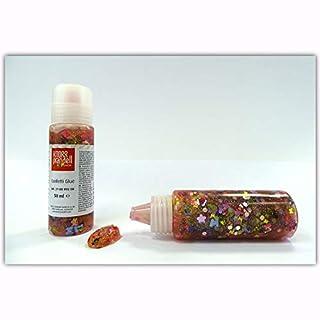 Glitterfarbe/Glitter Glue - Confetti Glue - Schmetterlinge - Kleber und Glitzer