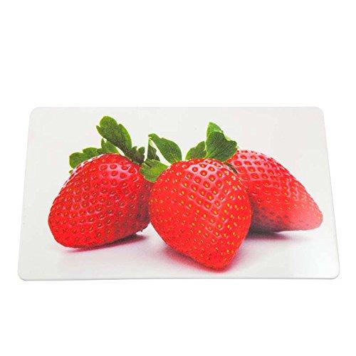 Colour-Bags Home & Living Frühstücksbrettchen/Schneidebrettchen Strawberries, 13 x 22 cm, aus Melamin lebensmittelecht - für DE ab EUR 29,00