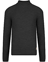 Threadbare HOMME DESIGN Vorderman Tortue Pull col rond chaud doux Pull-Over Tricot épais pull hiver