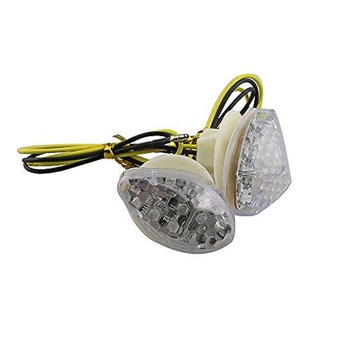 2X 15 LED Motorrad Blinker Licht für Honda CBR 600RR 12V Klar / Rauch-Berg