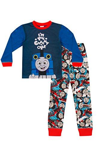 1319c5c31b ThePyjamaFactory Boys Thomas The Tank Engine Pyjamas I m The Cheeky One W17  (4