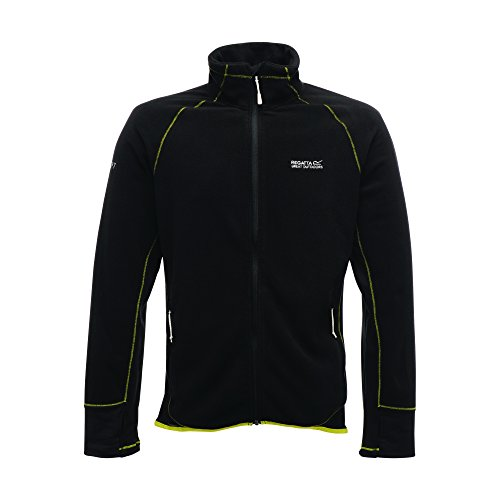 Regatta Great Outdoors Herren Fleece Jacke X-ert Performance Runout Schwarz