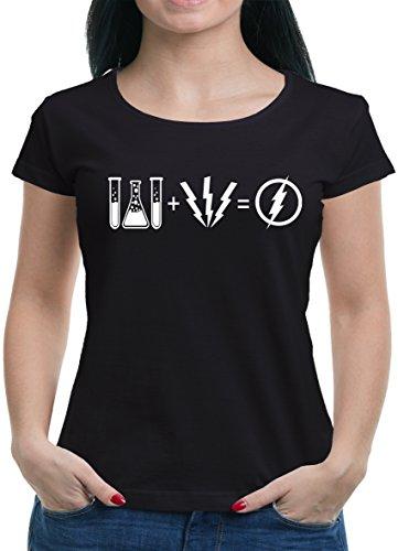TLM Flash Equation T-Shirt Damen S (Punisher Kostüm Frauen)