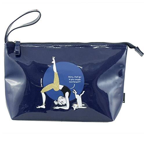 Incidence Paris 62070, Kulturtasche Blau Alors C'est qui le Plus Souple maintenant Bleu Marine