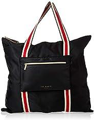 حقيبة يد للتسوق النسائية من Ted Baker ، باللون الأسود