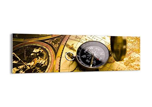 Bild auf Glas - Glasbilder - Einteilig - Breite: 160cm, Höhe: 50cm - Bildnummer 2129 - zum Aufhängen bereit - Bilder - Kunstdruck - GAB160x50-2129