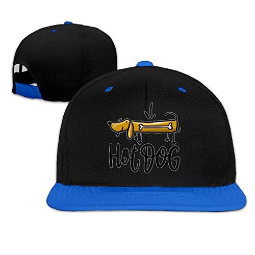 Osmykqe Hot Dog Low Profile Baseball Caps Einstellbare Mütze - Sonnenschutz -