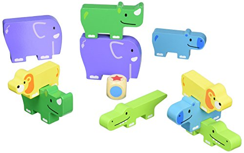 Hape 18009 Tour d'animaux - version italienne