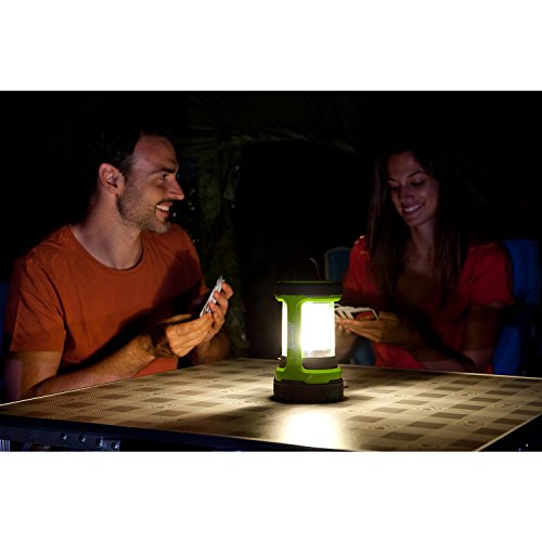 41Zi3ydj0bL. SS500  - Coleman Battery Lock Push Lantern 200 lumens Electric Lantern - Green