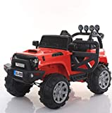 #3: Baybee Thaar Battery Operated Ride On Car for Kids with Music, Horn, Headlights with 30Kg Weight Capacity ( Red)
