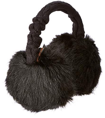 Barts Damen Ohrenschützer 15-0000000124 Schwarz (Schwarz) One Size