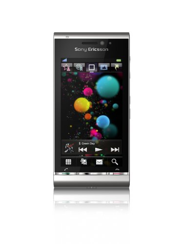 Sony Ericsson Satio Smartphone (UMTS, Wi-Fi, aGPS, 12.1 MP, Xenon Blitz) Silber Sony Ericsson Symbian