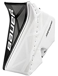 Bauer Supreme S150Blocker Junior, Couleur: Blanc/Noir; Jeu Page: Reg/linksfänger