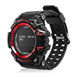 Features:OLED Display: show you much clear dial even under strong light or at dark night.Heart Rate Monitor: Record your heart rate status which make your sports healthier.Can be charged: longer use time and stanby time.Push message: It will show ...