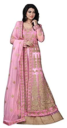 Saree Studio Pink Coloured Lehenga Choli