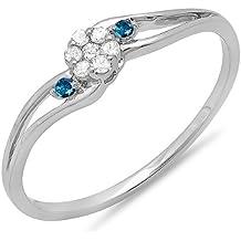Diamantring verlobung blau  Suchergebnis auf Amazon.de für: Blauer Diamant Ring