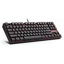 Redragon K552 KUMARA LED Backlit Mechanical Gaming Keyboard (Black) English US Layout
