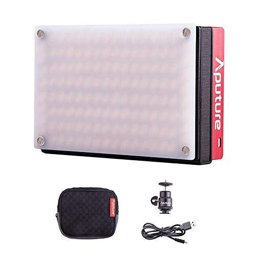 Aputure Amaran AL-MX LED Kamera Licht Adjustable Color Temperature 2800K-6500K TLCI/CRI 95+ Metal Designed Pocket-Sized Licht Foto Video Built in Battery for Camera MEHRWEG -
