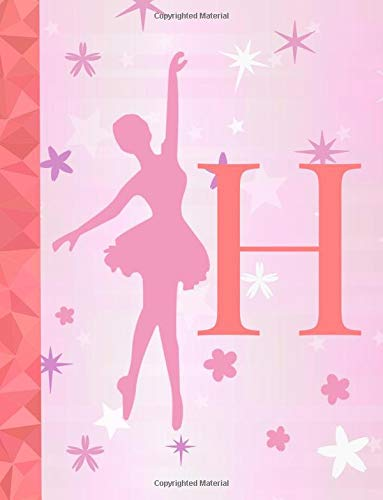 H: Ballet Notebook for Girls ~ Wide Ruled Composition Notebook 8.5