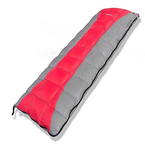 Mochilas para deportes al aire libre El saco de dormir de sobre de camping se puede coser ligero y resistente al agua portátil con compresor de saco, ideal para 3 estaciones de senderismo Puede acom