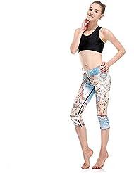 HYHAN Yoga printemps pantalons de mode et de remise en forme sèche de l'été était mince collants de sport
