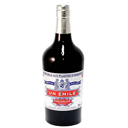 Absinthe Un Emile 45° - Spiritueux aux plantes d'absinthe