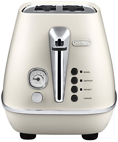 De'Longhi CTI 2103.W DISTINTA 2-Schlitz-Toaster, weiss
