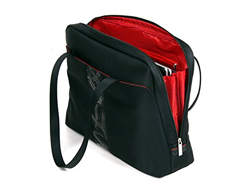 Veroli Damen Laptop Tasche - Im Trend und modisch - Damen Laptop Kuriertasche für 15,6-Zoll-Laptops