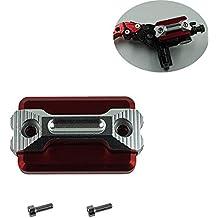Cubierta del depósito de líquido del cilindro del embrague del freno delantero de la motocicleta para