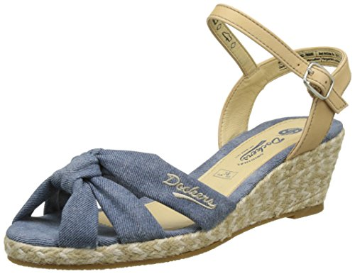 Dockers by Gerli Damen 36IS202-706600 Slingback, Blau (Blau 600), 37 EU