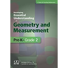 Developing Essential Understanding of Geometry and Measurement for Teaching Mathematics in Pre-K-Grade 2 (The Essential Understanding Series) by E.Paul Goldenberg (2014-12-31)