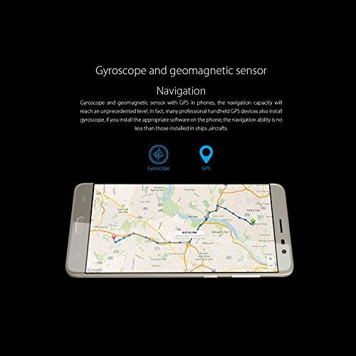 CUBOT Cheetah2 - Smartphone libre 4G Android 6 0  Pantalla 5 5  FHD  Dual SIM  C  mara 8Mp 13Mp  Octa Core  3GB RAM  3000mAh bater  a  Sensor de Huell