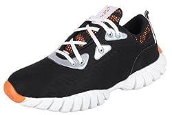 Port Mens Black Sports Running Shoes - 7