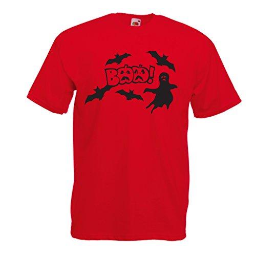 Männer T-Shirt BAAA! - Funny Halloween Costume ideas, cool party outfits (Small Rot (Halloween Einfach Selbstgemacht Männlich Kostüme)