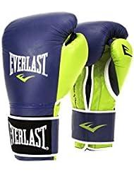Everlast Powerlock Training Guantes, Hombre, Azul Marino y Verde, 39,8 Cl