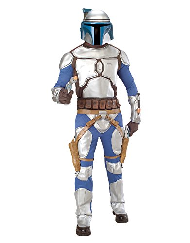 Kostüme Erwachsene Jango Star Fett Wars Für (Star Wars-Jango Fett Herren Kostüm, Kinderkostüm, Standard, Taille, Brust 111.76 30 cm 86.36 cm; Innennaht 83.82)