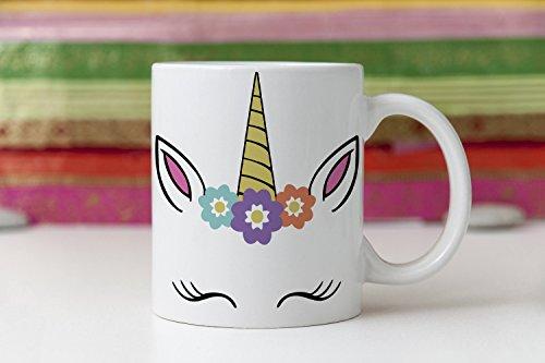 Unicorn Mug, Personalized Unicorn Coffee Mug, custom mug, customized cup, personalised mugs, unicorn gifts, unicorn face, unicorn fan