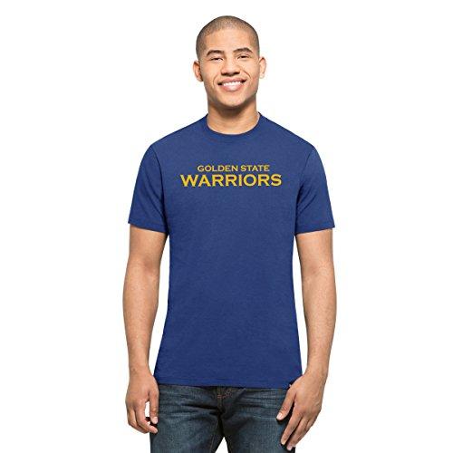 '47 Brand NBA GOLDEN STATE WARRIORS MVP Splitter T-Shirt, Größe:L (State Golden Brand Warriors 47)